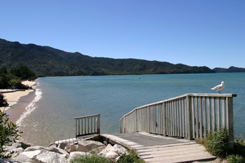Marahau, the gateway to the Abel Tasman National Park